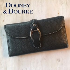 Dooney & Bourke Leather Buckle Wallet